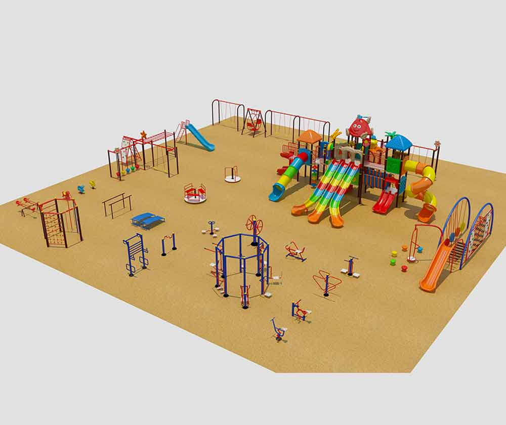 Outdoor Multiplay Set In Ambala