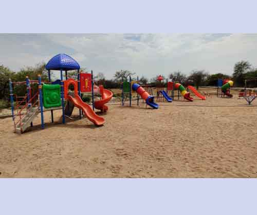 Playground Multiplay Slide